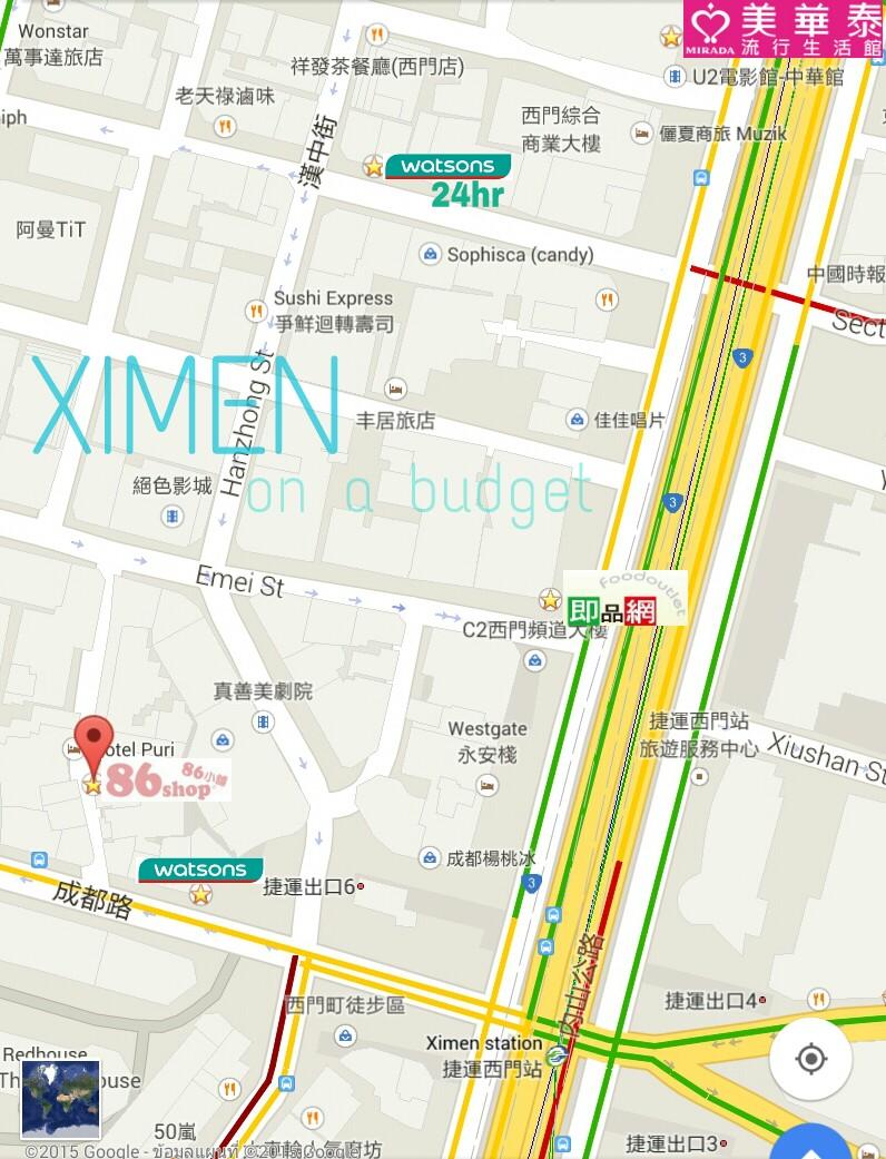 ximen map